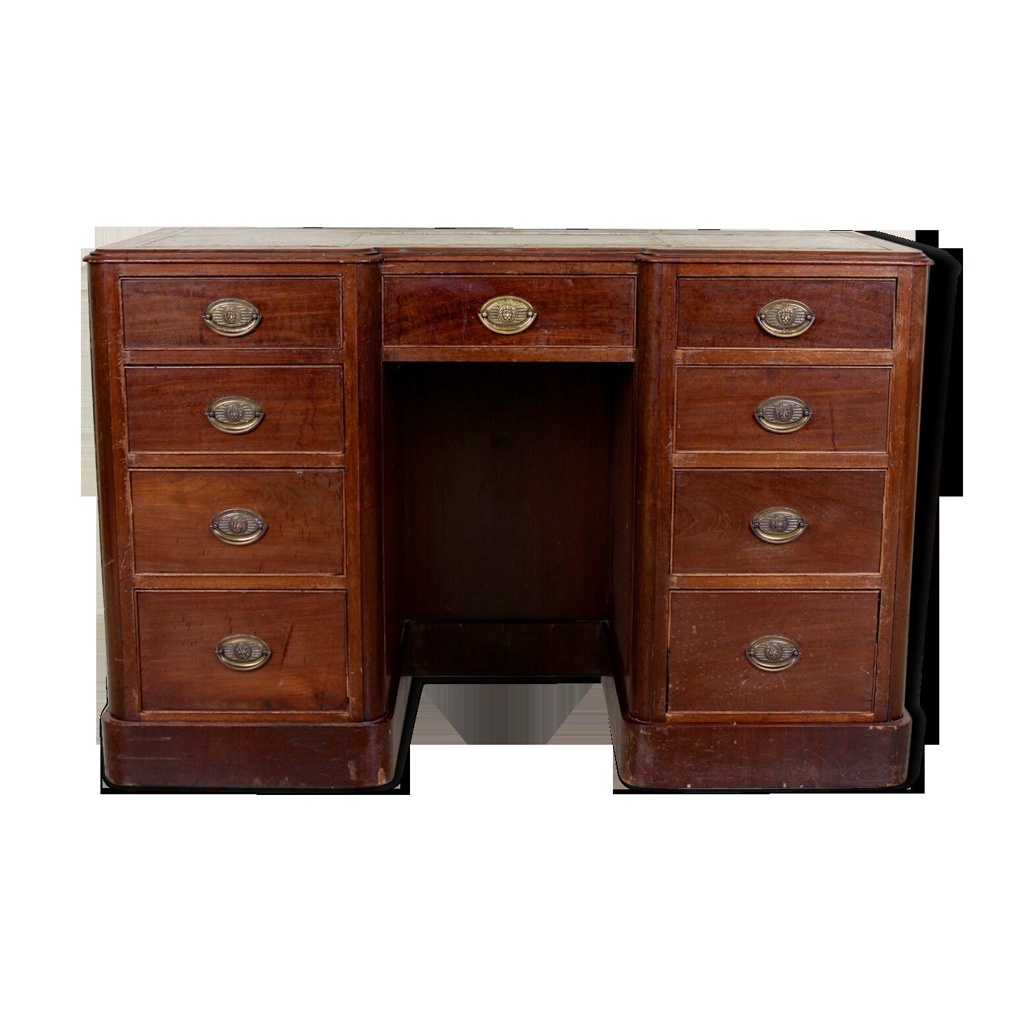 Fauteuil bureau bois chaise de bureau en bois et cuir
