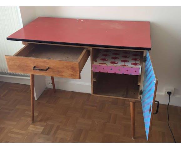 Bureau enfant des années 50