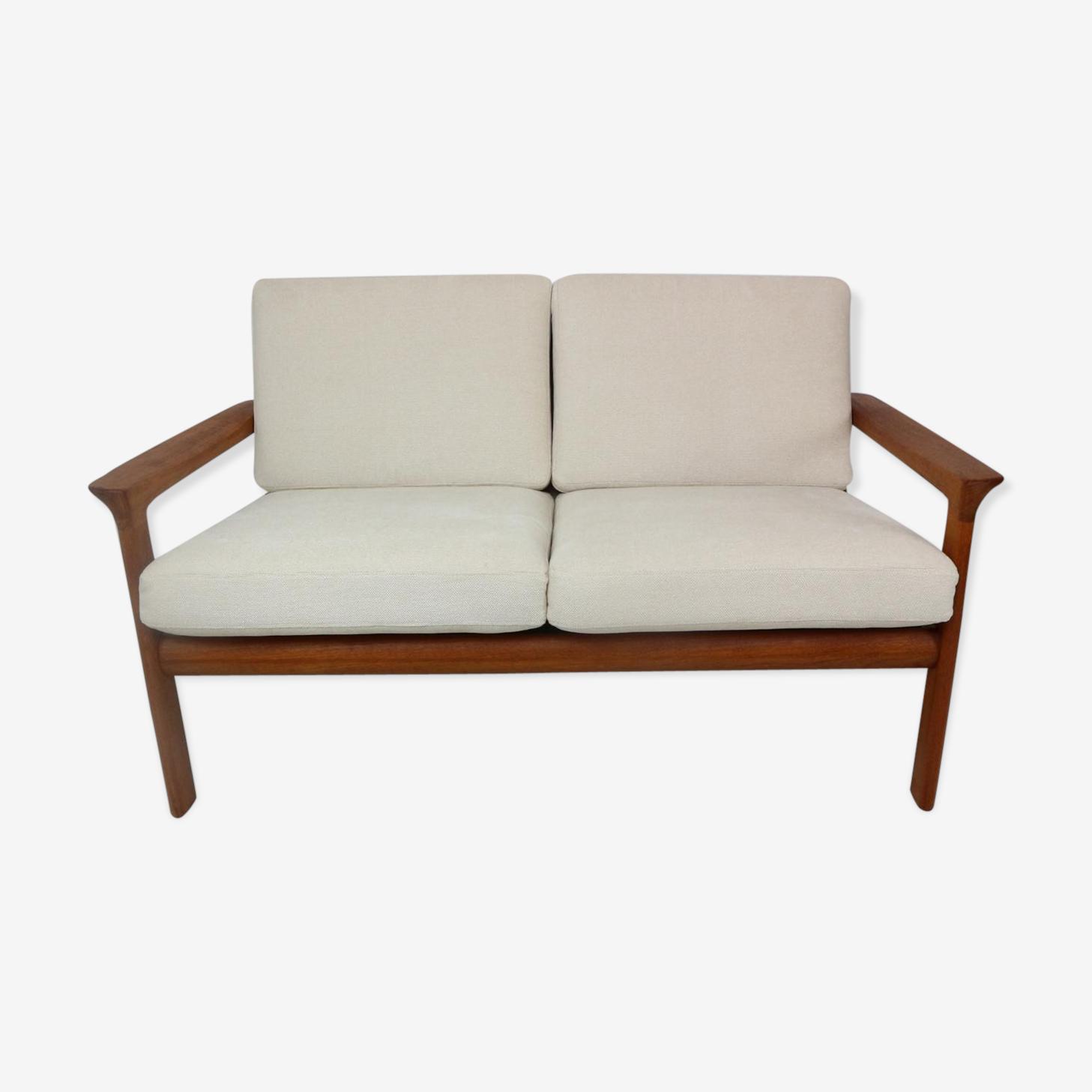 Two-seater sofa Borneo by Sven Ellekaer for Komfort 60s