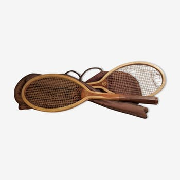 Pair of tennis rackets