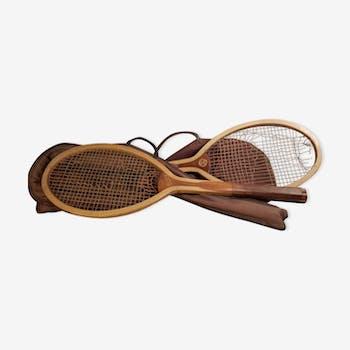 Paire de raquettes de tennis
