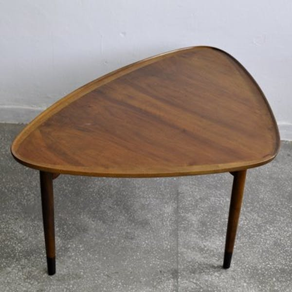 Kidney Shaped Coffee Table 1960 Selency