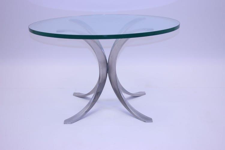 Table basse avec base de modèle x