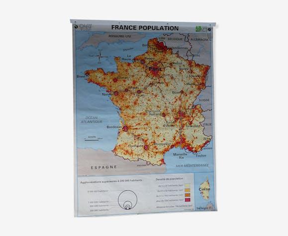 Vintage poster school card France MDI edition