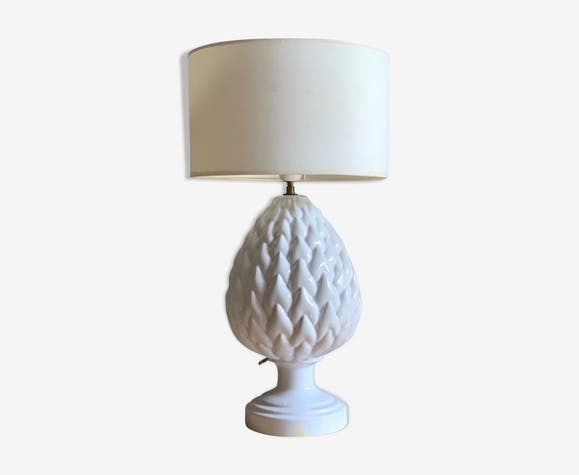 Céramique Vintage De En Table Faience Charolles Qohdbstcrx Lampe Ananas Yy7gvf6b
