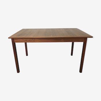 Table Scandinavian teak desgin Sweden by Nils Jonsson