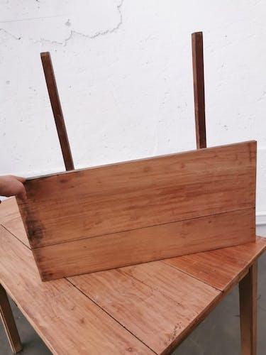 Table de ferme avec rallonges