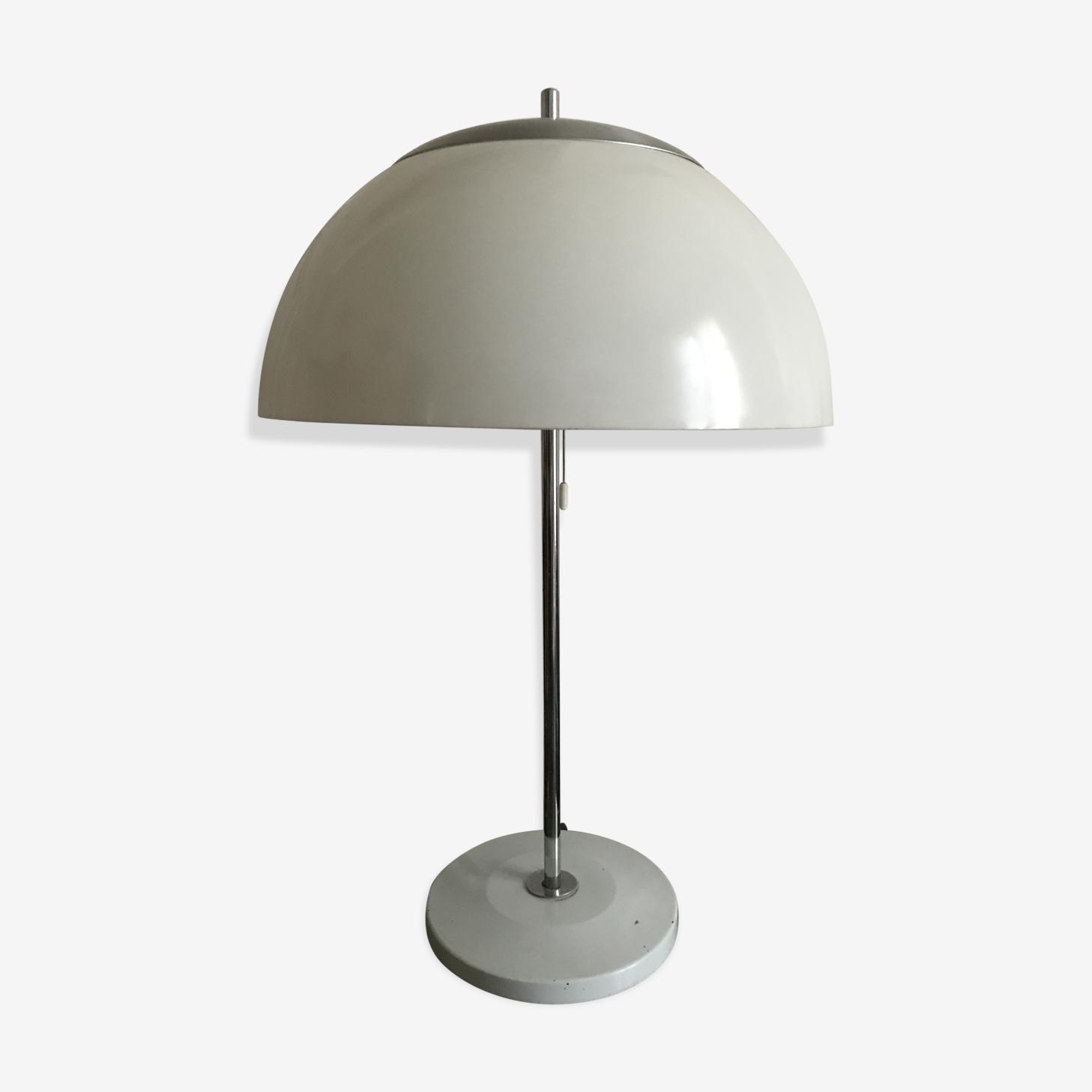 Lampe Champignon Unilux Plastic White Vintage D5igrzr