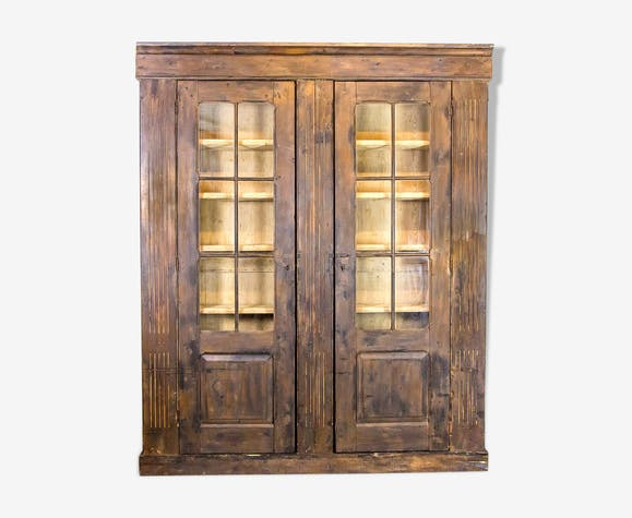 Antique pine cabinet, 1910