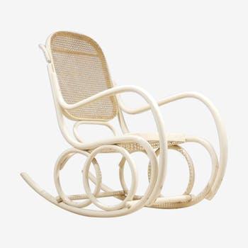 fauteuils rocking chair vintage et anciens d 39 occasion. Black Bedroom Furniture Sets. Home Design Ideas
