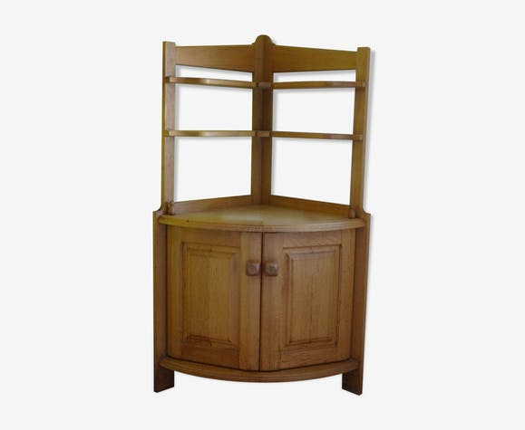 Wooden furniture neckline 150cm Guillerme and Chambron oak 1950 design