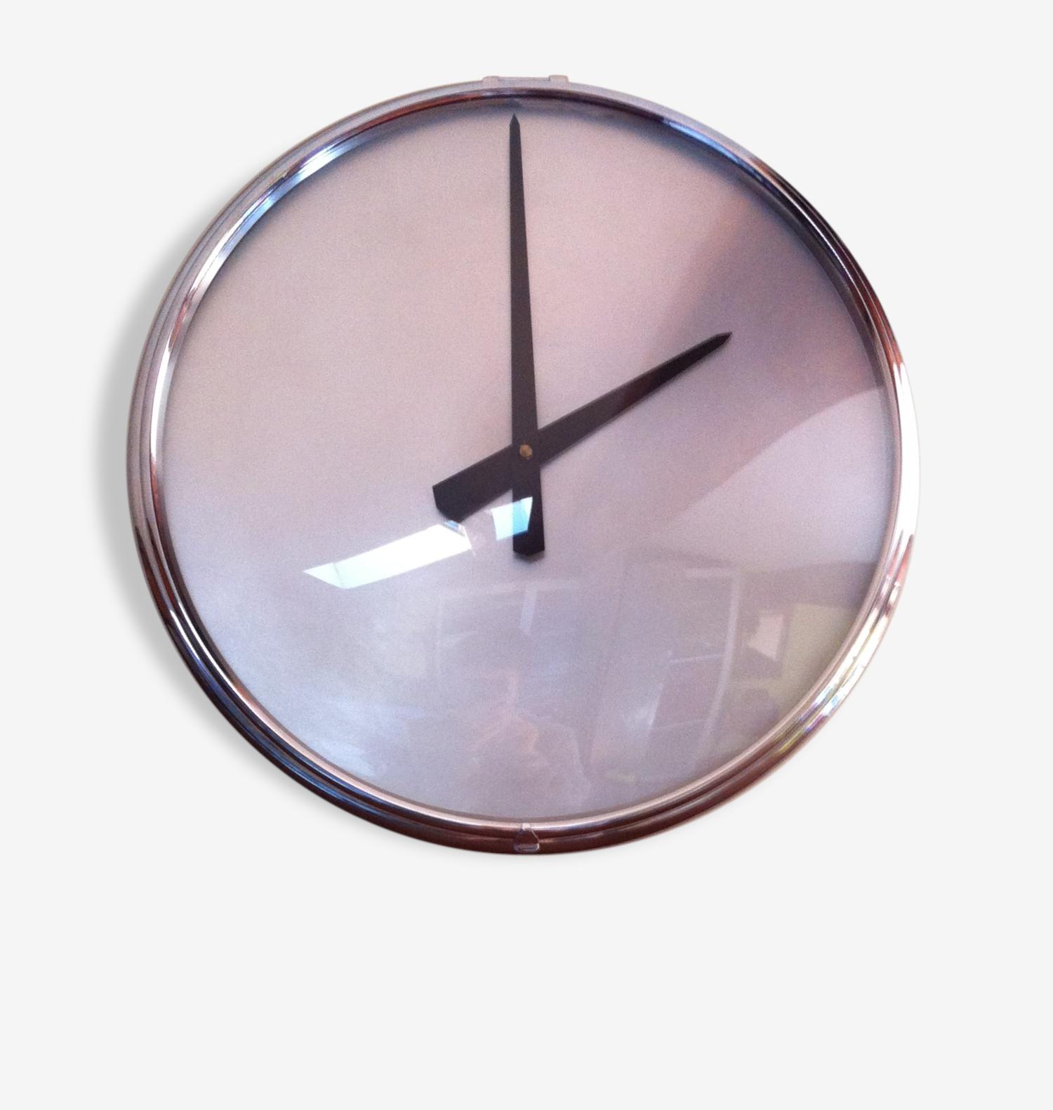 Grande horloge industrielle - Vedette - années 60