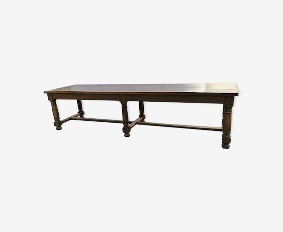 Great vintage walnut table