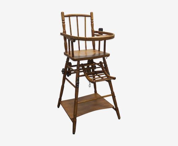 Convertible child chair, Baumann 1920