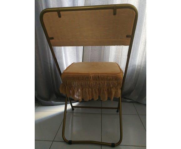 Chaise doré