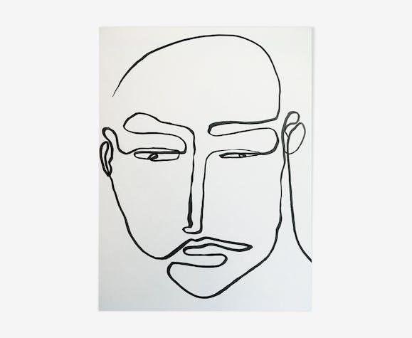 """Illustration """"Les autres #3"""""""