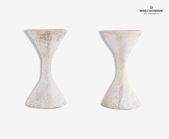 Paire de jardinières Diabolo design Guhl et Anton Bee