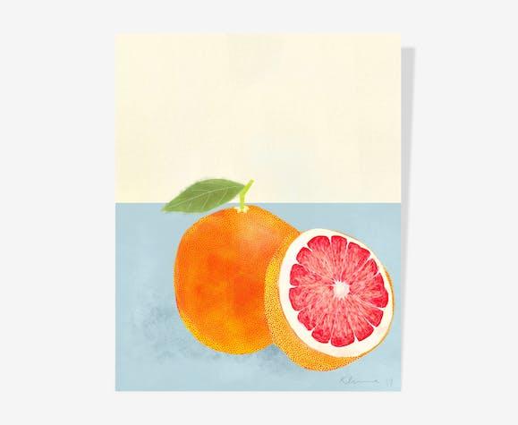 Pomelos Oil — 40 x 50 cm