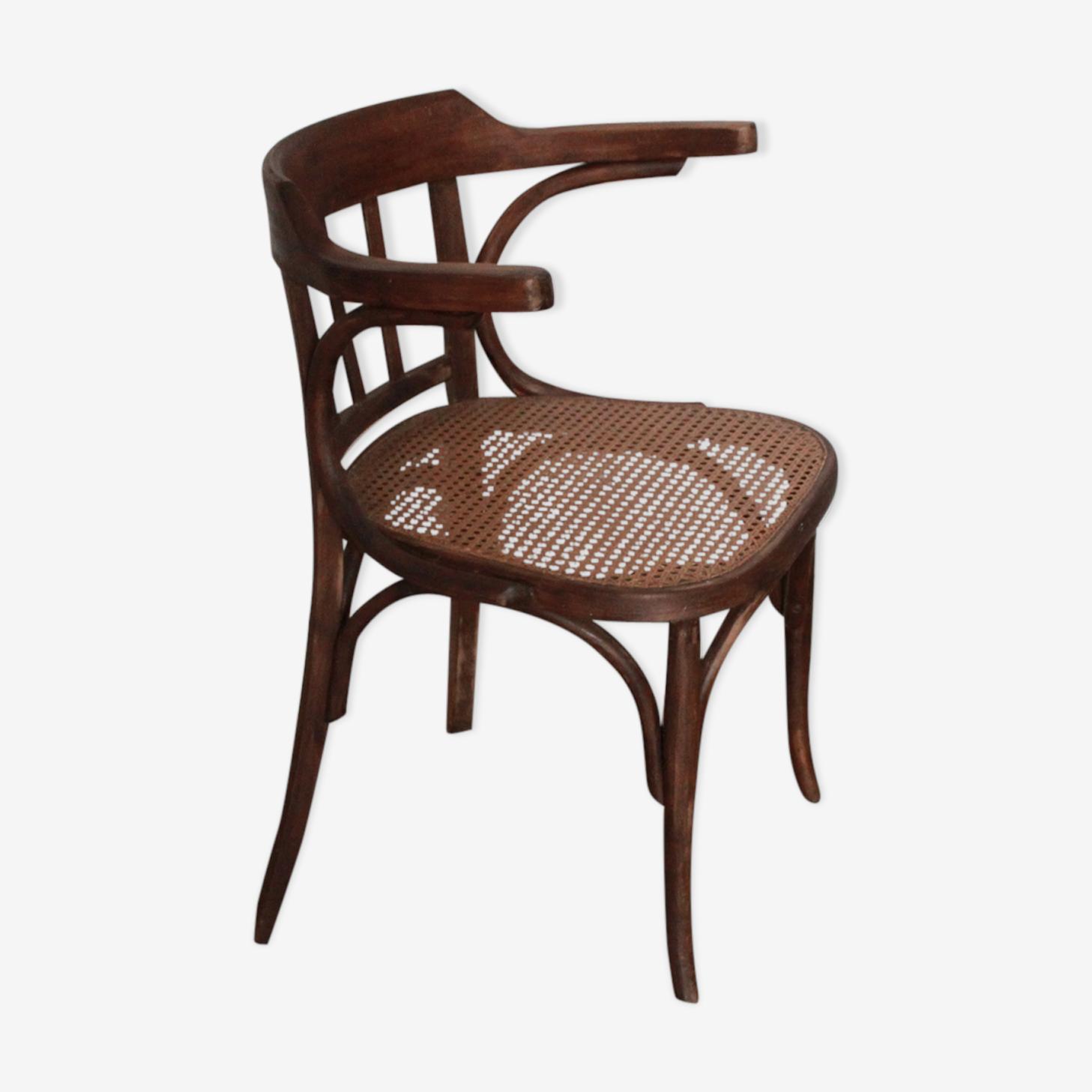 Chaise en bois 1900
