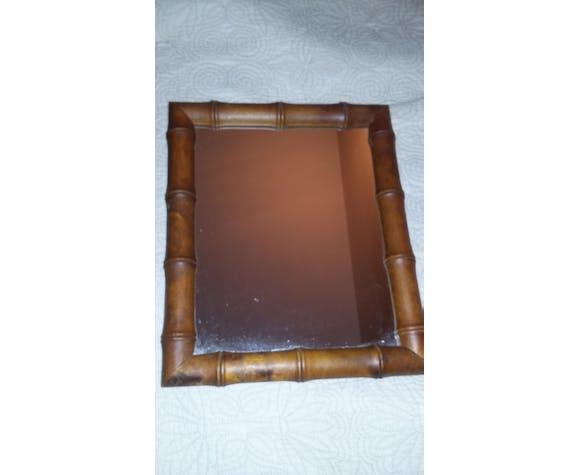 Bamboo Mirror  25x30cm