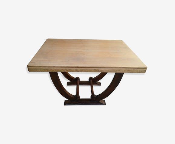 Table De Salle A Manger Style Art Deco Wood Wooden Art