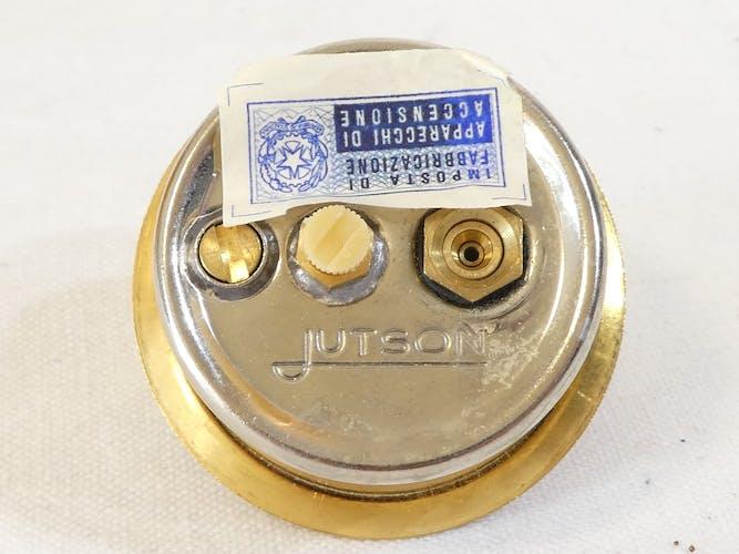 Briquet Jutson bois laqué et laiton vintage 50'