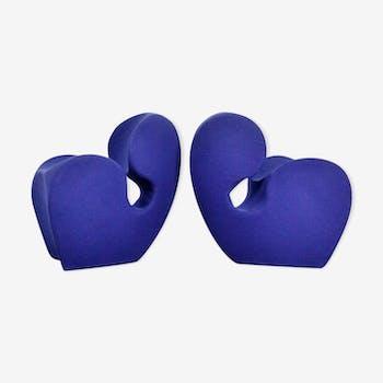 Paire de fauteuils Soft Little Heavy de la collection Spring, par Ron Arad pour Moroso.