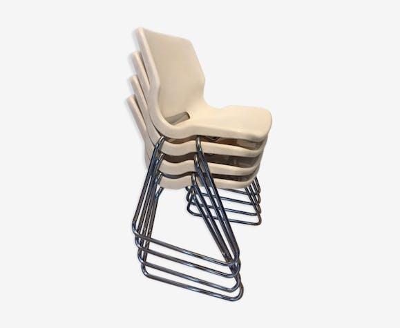 Lot de chaises Overman
