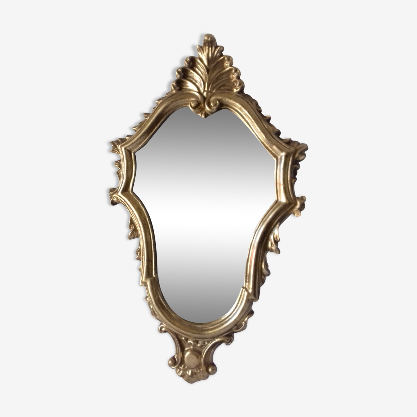 Very nice mirror wooden gold