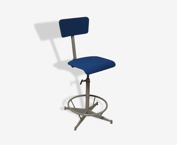 Chaise atelier bleue 60'