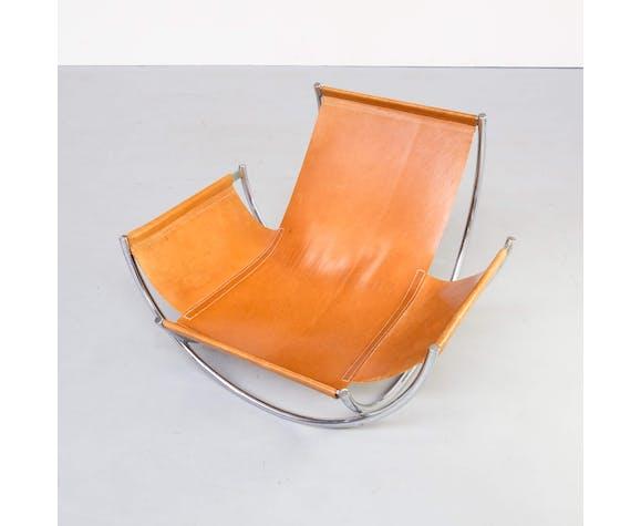 """Fauteuil """"wilo"""" de Lennart Bender des années 70 pour Wibro AB"""