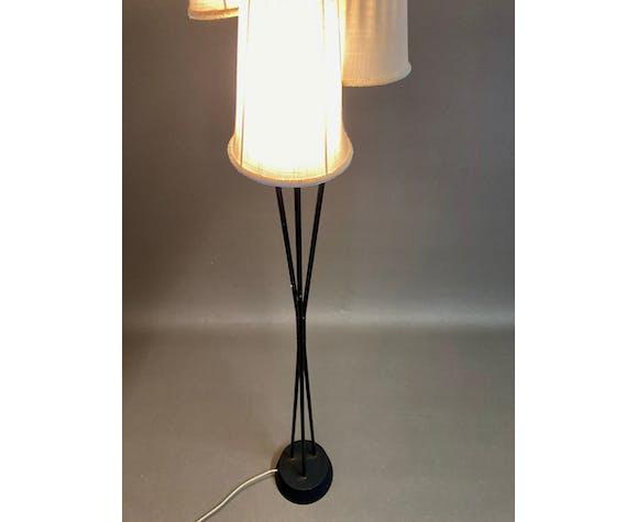 Lampadaire métal design 1950