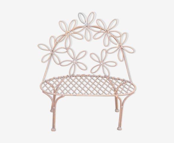banc de jardin pour enfant en fer fer marron classique yfjwiuz. Black Bedroom Furniture Sets. Home Design Ideas