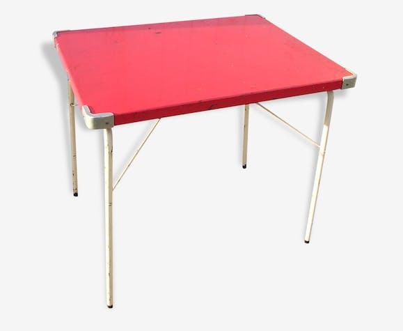 de en pliante table métal Petite camping SOUPLEXvintage 2DIEH9WY