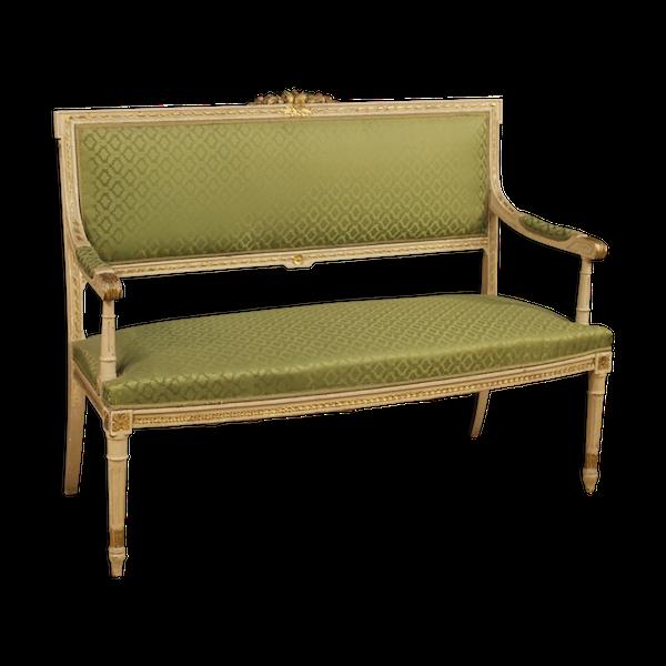 Canapé Italien de style Louis XVI