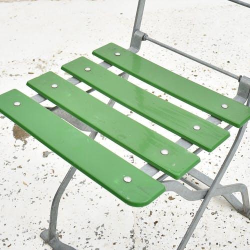 Ensemble de 4 chaises de bistrot vintage allemandes