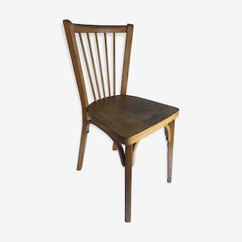 Chaise design industrielle scandinave vintage d 39 occasion - Chaise bistrot ancienne baumann ...
