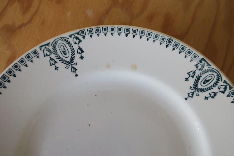 2 assiettes vintage St Amand