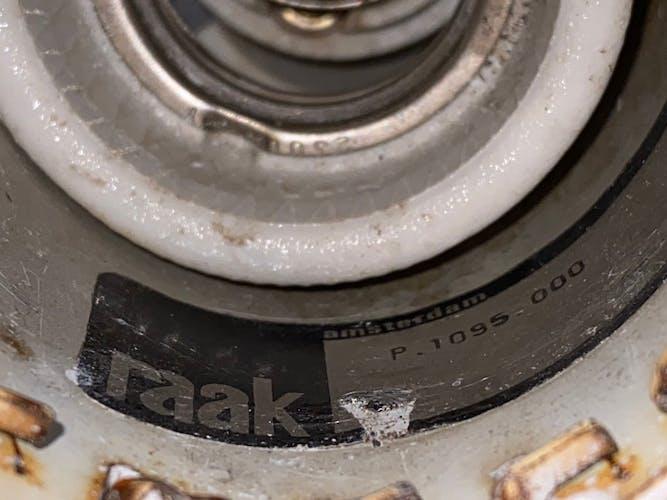 Paire d'appliques Raak modèle « Bolide » B-1095 1970