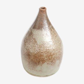 Signed ceramic vase, 80s