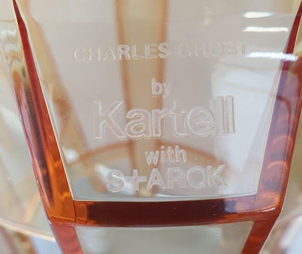 Paire de tabourets de bar Kartell par Philippe Starck