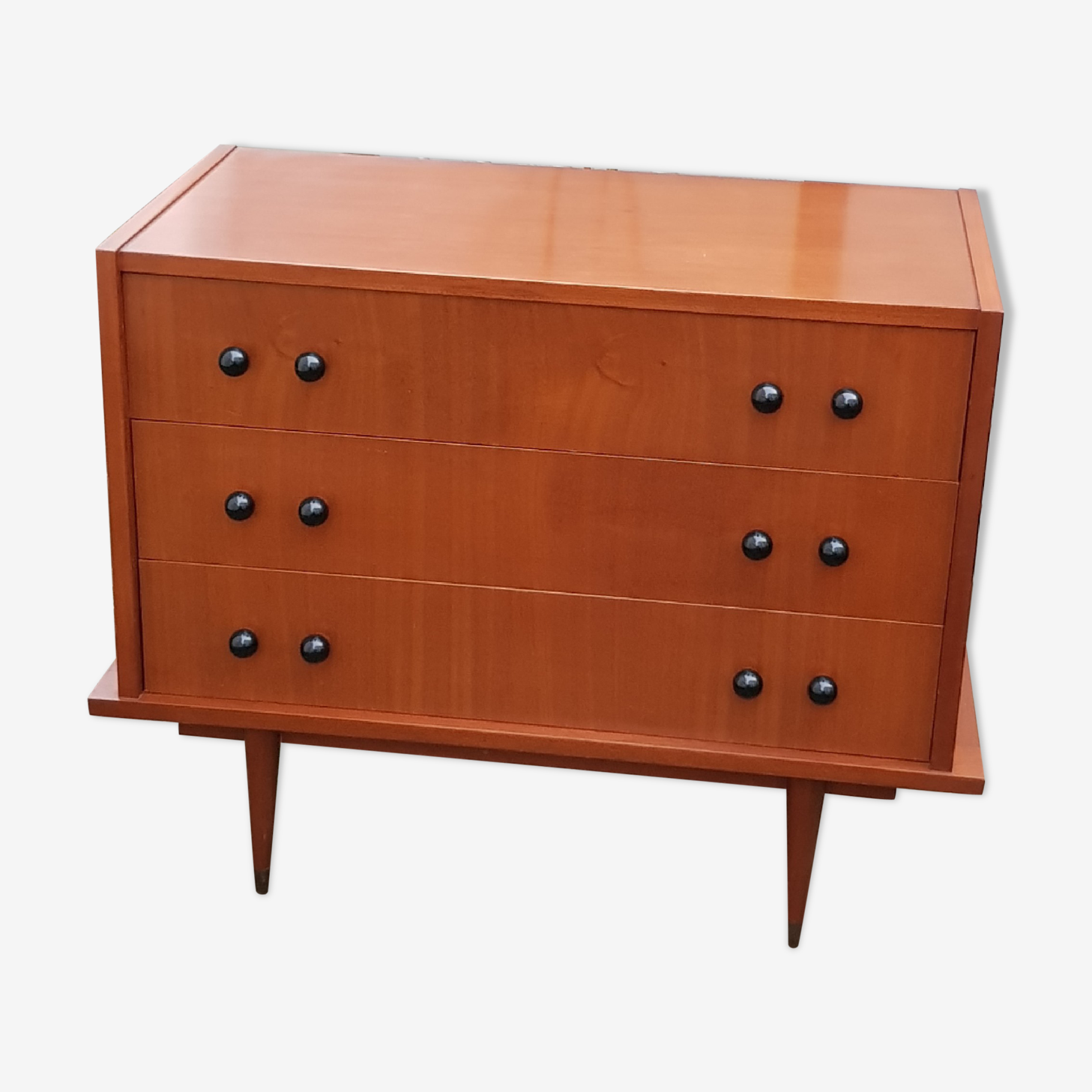 Chest of drawers teak 60s