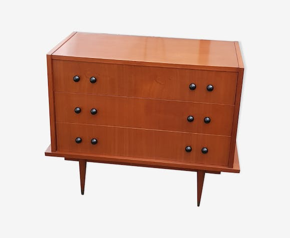 Chest of drawers teak 60s