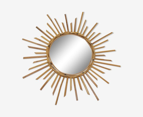 Miroir soleil vintage 1950