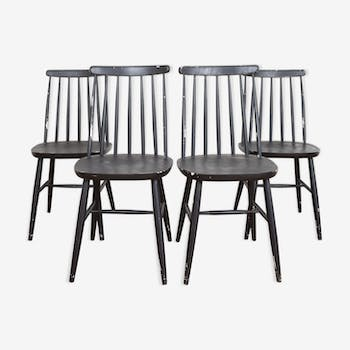 A set of four chairs 1960