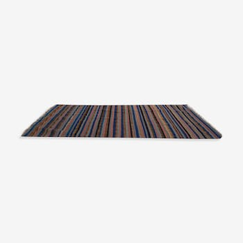 Also carpets woven by hand with stripes 118 x 190 cm