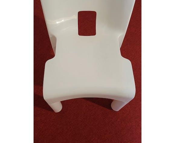 Paire de chaises modèle 4860 Universale, Joe Colombo édité par Kartell, années 1960