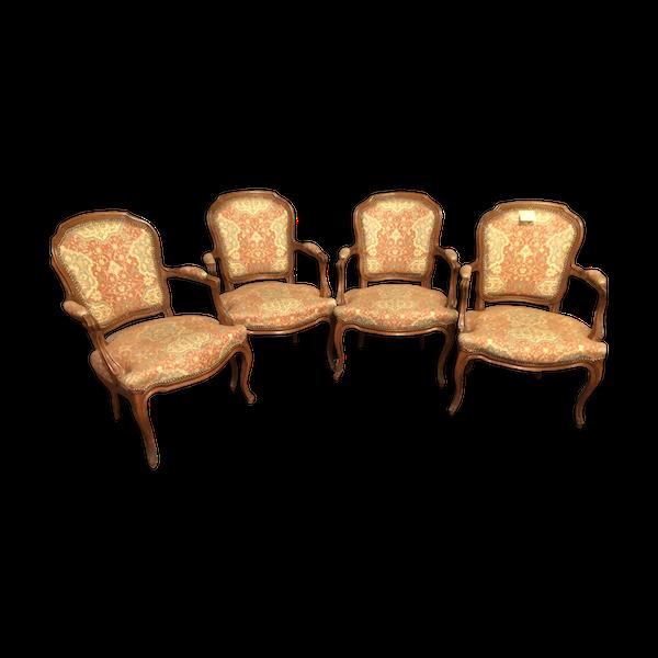 Fauteuils de style Louis XV