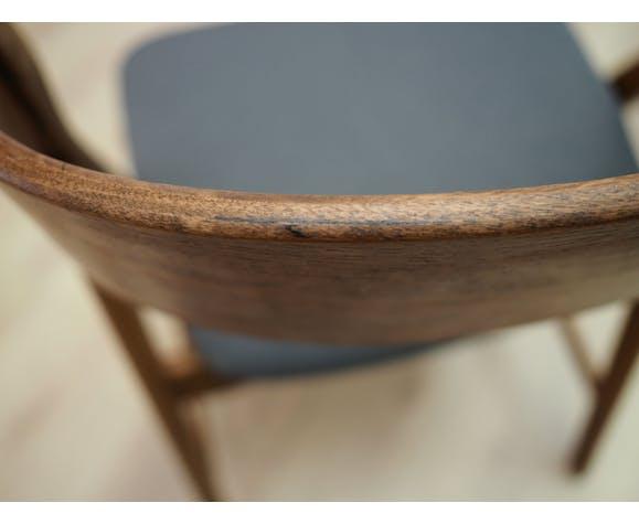 Lot de 4 chaises en teck, design danois, années 70