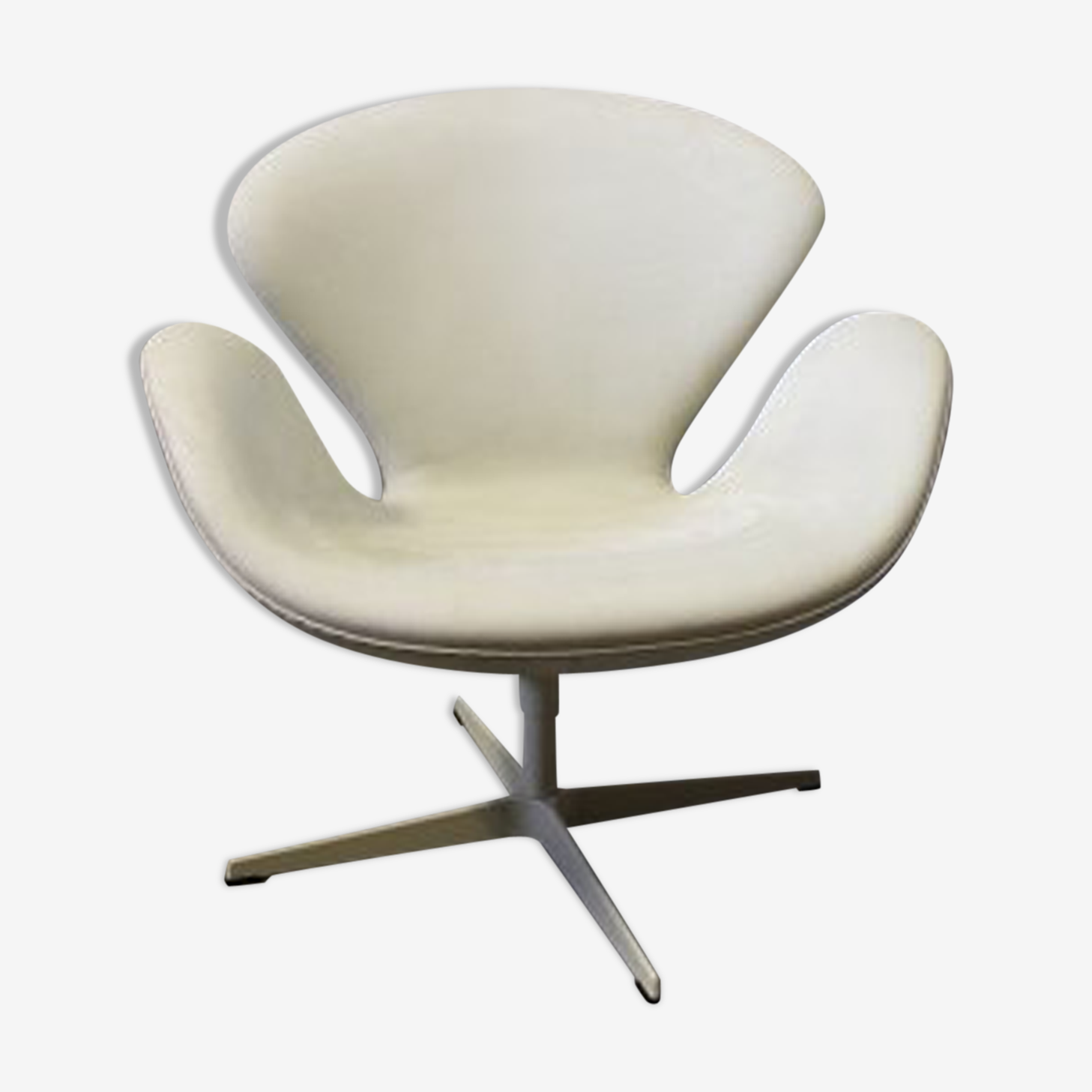 Arne Jacobsen Swan Chair Leather White Design Y53f1zx